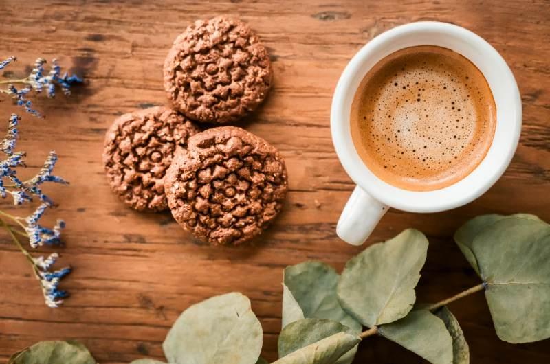Salted cacao –sušenky, které si zamilujete
