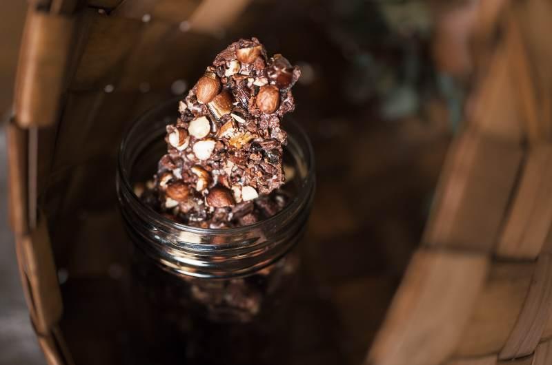 Mléčná lámaná RAW čokoláda